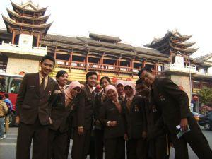 Peserta Pertukaran Pemuda Indonesia-China di Beijing