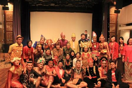 national presentation kontingen Indonesia
